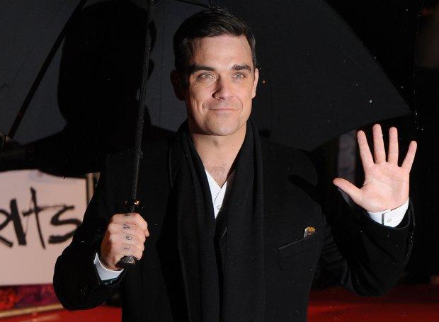 Robbie Williams na Brit Awards 2010