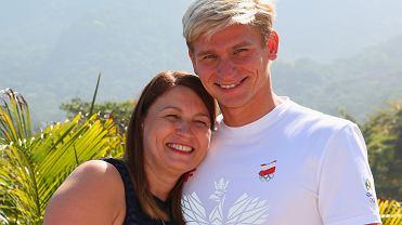 P&G House Rio 2016 Radek Kawęcki z mamą