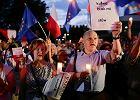 """Demonstracja przed krakowskim sądem. """"A światłość w ciemności świeci"""""""