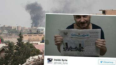 """Zdjęcie opublikowane przez """"Inside Syria"""""""
