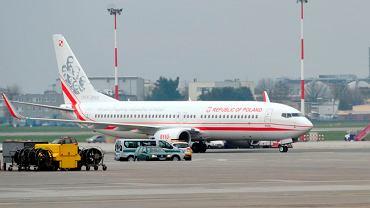 Rządowy Boeing 737-800 NG z wizerunkiem Józefa Piłsudskiego na ogonie może latać z VIP-ami na pokładzie