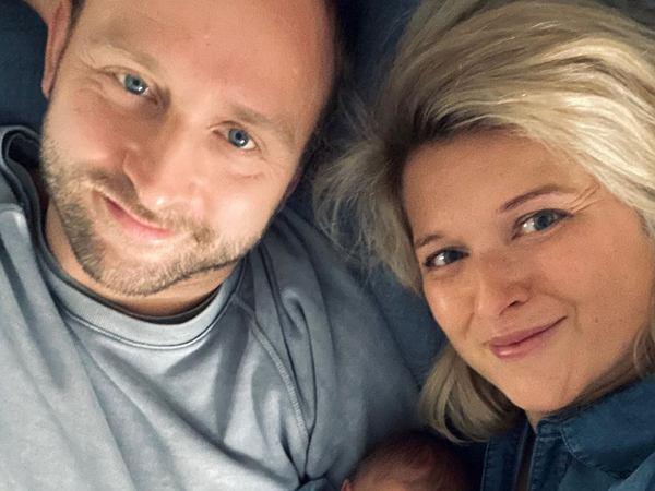 Borys Szyc został ojcem. Dodał zdjęcie z ukochaną i synem oraz zdradził imię dziecka