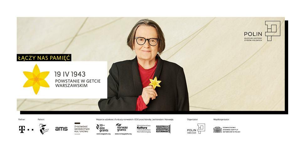 Zdjęcie numer 11 w galerii - Rocznica powstania w getcie warszawskim. Żonkil oznacza pamięć