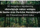 TPN zamknięty też dla mieszkańców powiatu tatrzańskiego. Bezwzględny zakaz wstępu do parków narodowych