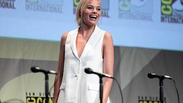 Margot Robbie podczas San Diego Comic Con, 2015 r.
