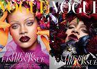 """Czy wróciła moda na cienkie brwi?  Rihanna i styl jej brwi na okładce """"Vogue"""" wzbudziły sensację"""