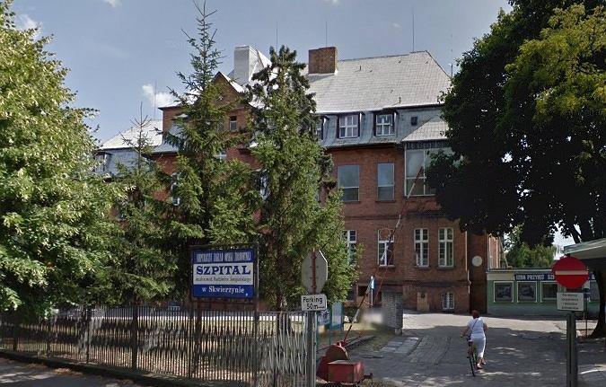 Szpital im. R. Śmigielskiego w Skwierzynie. Zdjęcie ilustracyjne