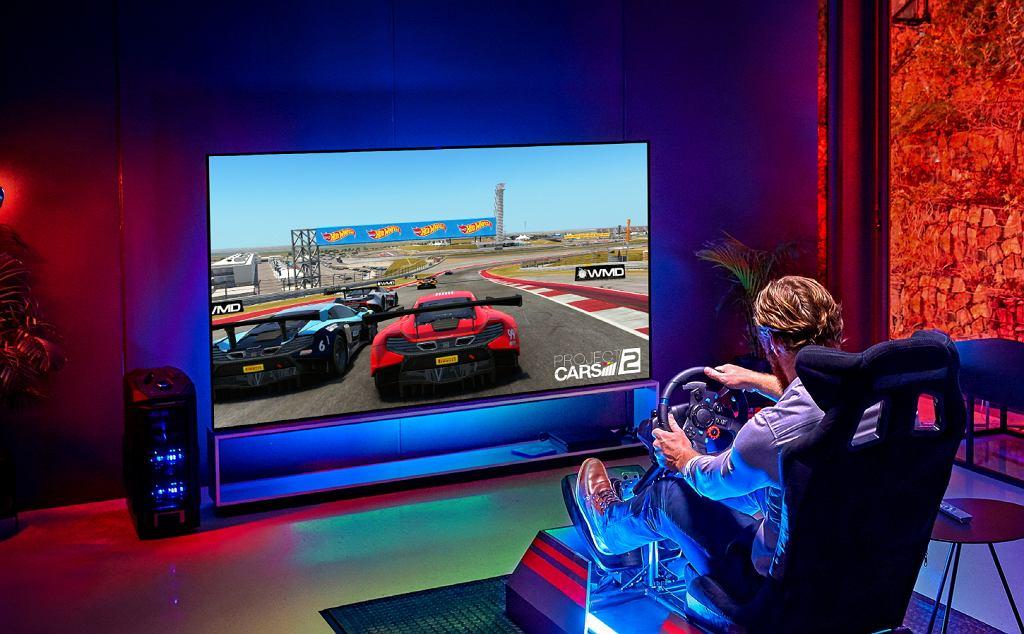 Telewizory LG OLED świetnie się nadają również do grania