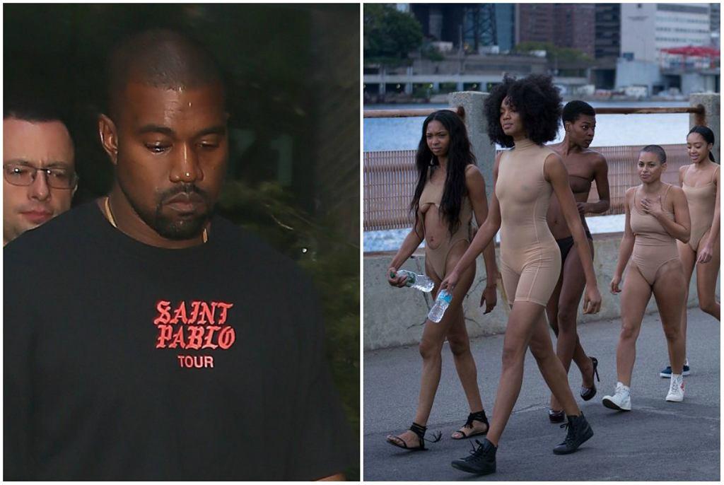 Kanye West nie zachwycił dziennikarzy pokazem YEEZY SEASON 4