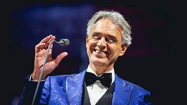 Andrea Bocelli zaśpiewa na PGE Narodowym w Warszawie!