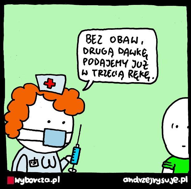 Andrzej Rysuje | DRUGA DAWKA - Andrzej Rysuje, 12.04.2021 -