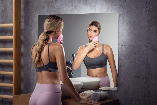 Foreo - jak pielęgnować twarz po treningu?