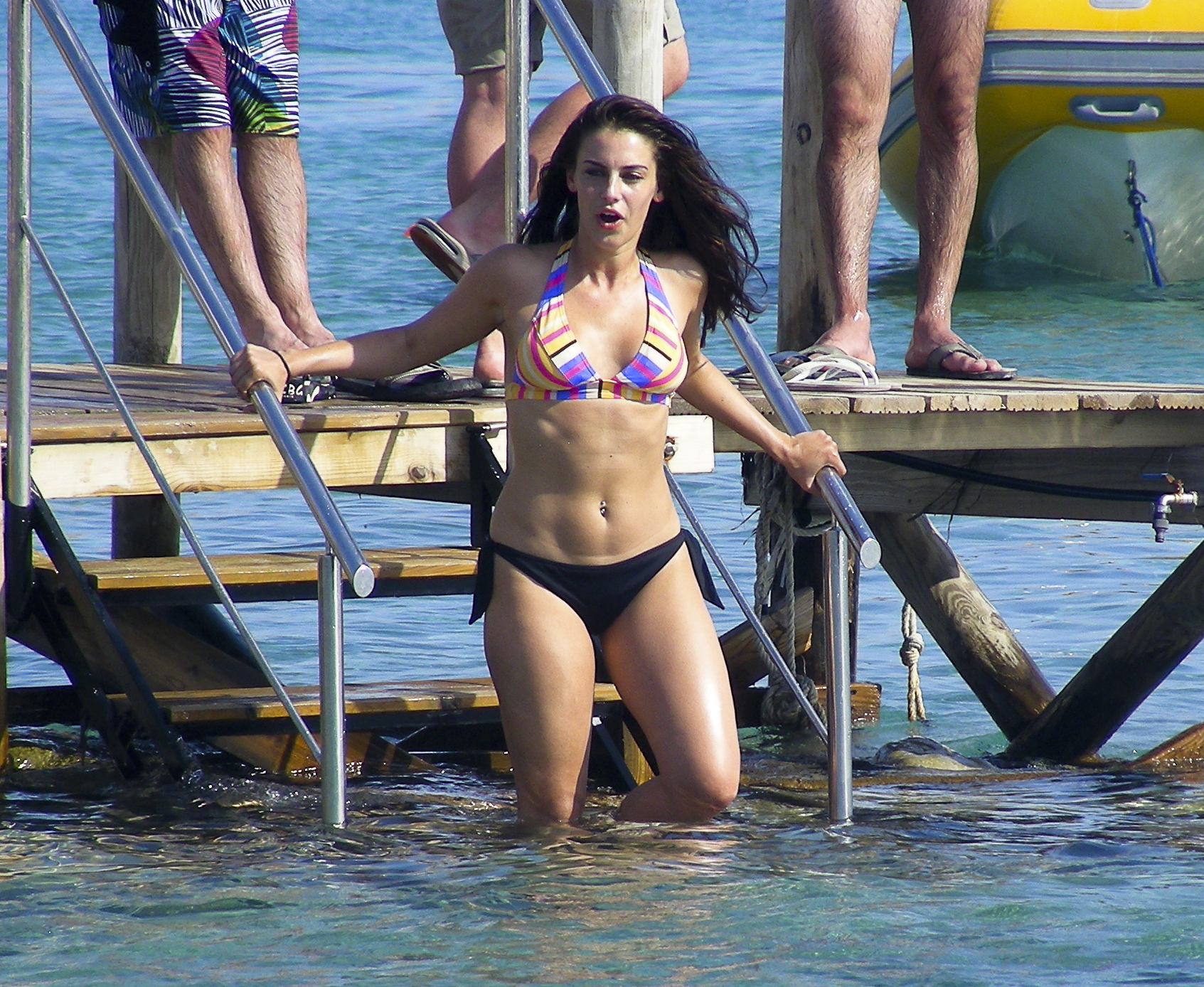Actress-singer Jessica Lowndes is spending some holidyas in Ibiza. She is well-known from her act in 90210 Beverly Hills.  Reference: IP00002197