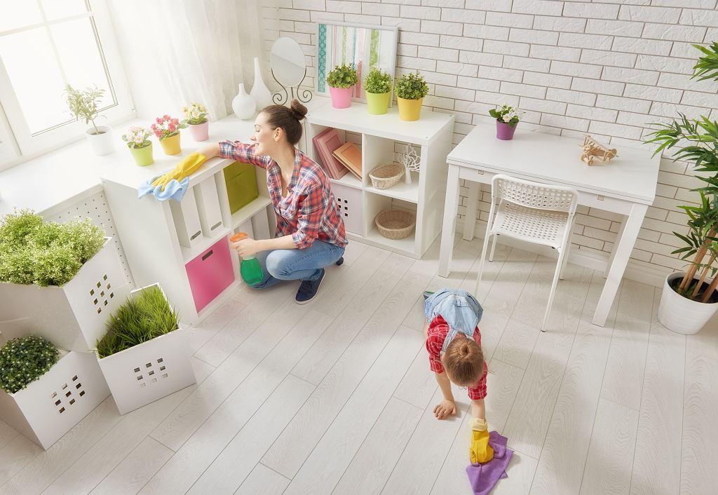 Domowe porządki z dzieckiem
