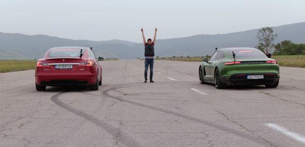 Tesla P100D czy Porsche Taycan Turbo S? Ten film wyjaśnia wątpliwości [WIDEO]