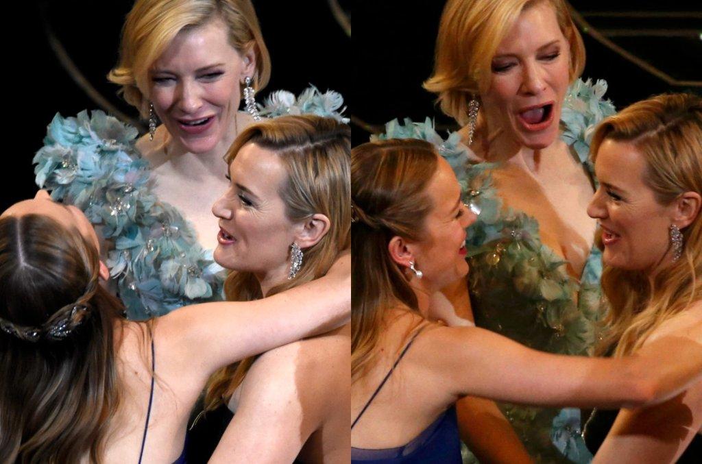 Brie Larson, Cate Blanchett, Kate Winslet