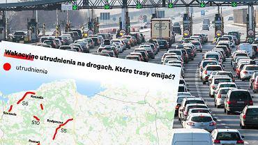 Wakacyjne utrudnienia na drogach (Dane za 'Rzeczpospolitą')