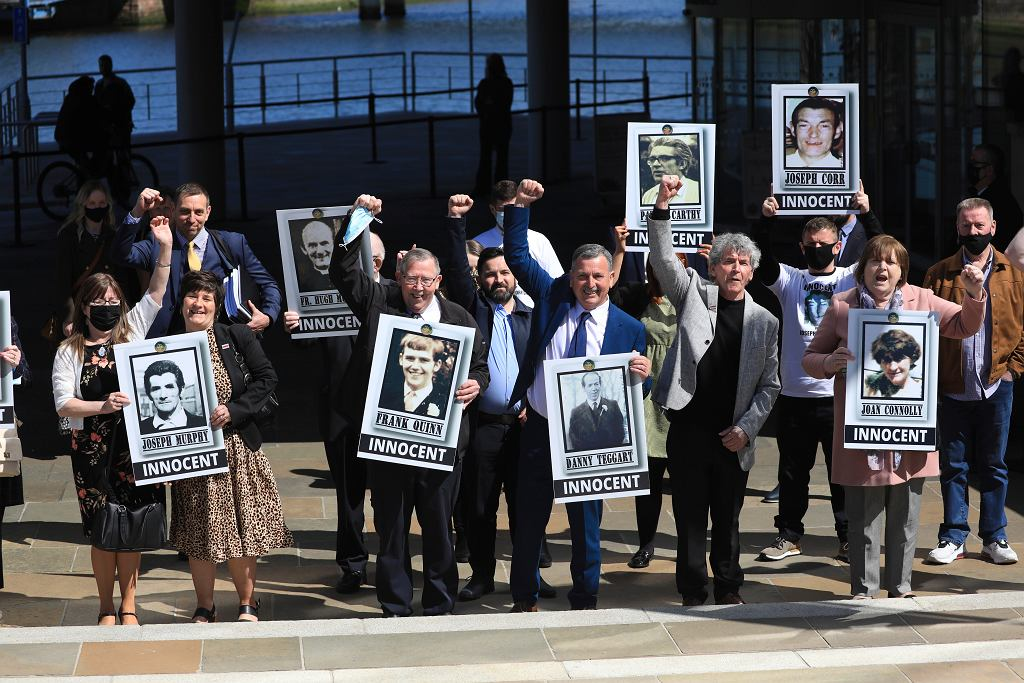 Rodziny ofiar z Ballymurphy