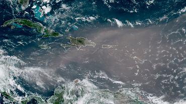 Caribbean Sahara Dust