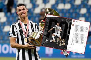 """Intrygujący wpis Cristiano Ronaldo. """"Dotarłem do celu"""""""