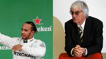 Lewis Hamilton krytykuje Berniego Ecclestone'a