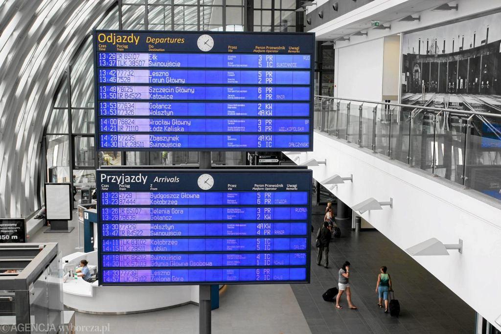 Dworzec Poznań Główny (Fot. Tomasz Kamiński / Agencja Gazeta)