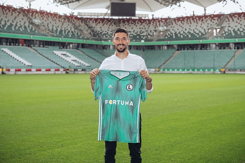 Filip Mladenović piłkarzem Legii