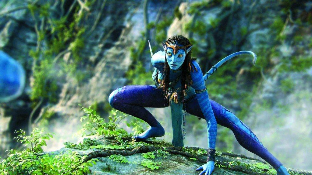 Księżniczka Neytiri z filmu