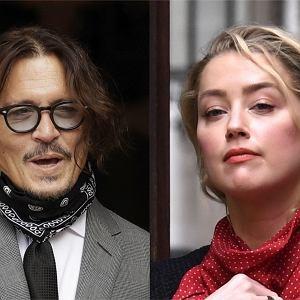 Amber Heard i Johnny Depp  - kolejny dzień procesu