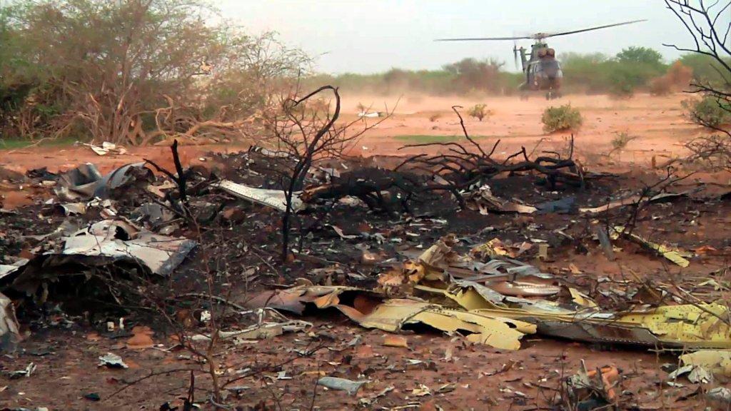 Miejsce katastrofy samolotu AH5017
