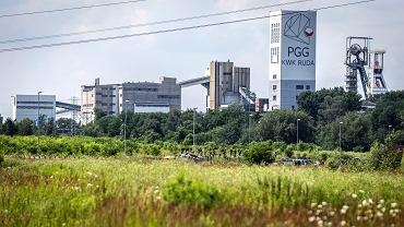 Ruda Śląska, kopalnia Pokój.