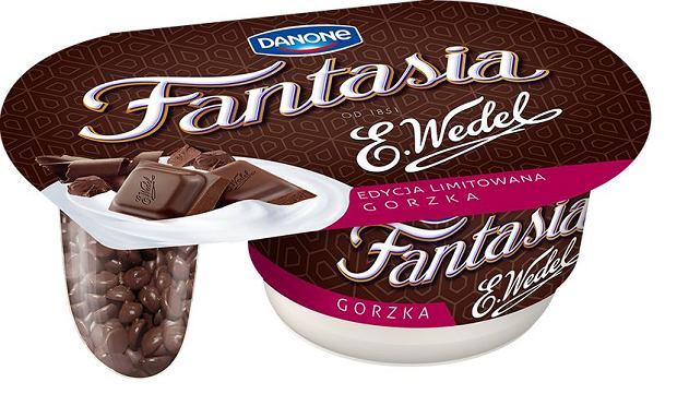 Fantasia z gorzką wedlowską czekoladą