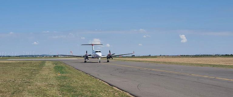 Nowe lotnisko w Polsce otwarte. Do inwestycji dołożyła się fabryka mebli