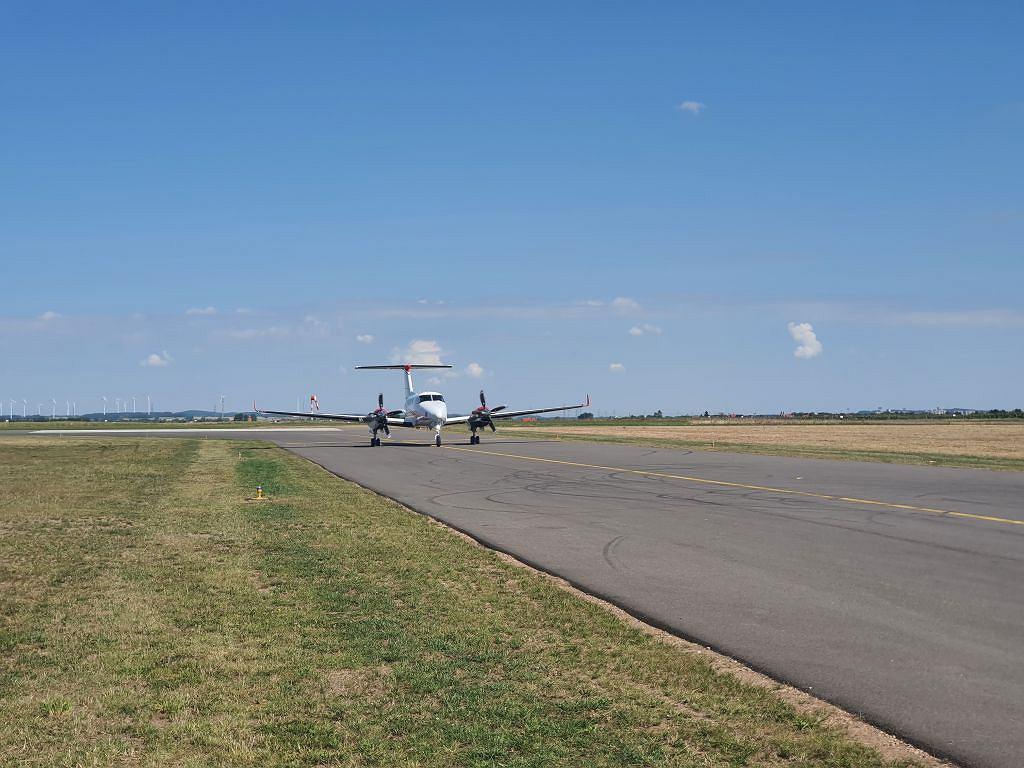 Lotnisko w Suwałkach zostało otwarte 8 sierpnia