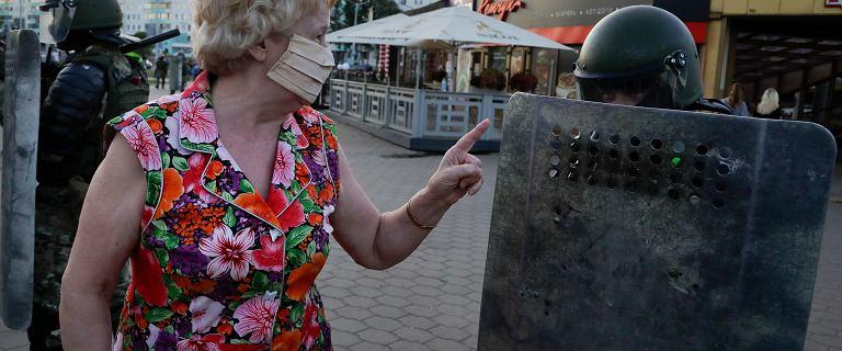 """Protesty na Białorusi. """"Ta rewolucja jest dowodzona przez kobiety"""""""