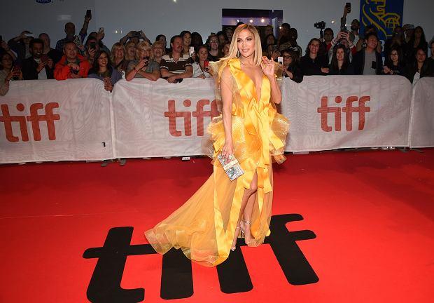 Jennifer Lopez na premierze 'Hustlers' podczas Toronto International Film Festival