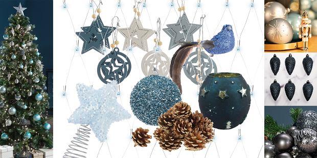 Świąteczne dekoracje w kolorze srebra
