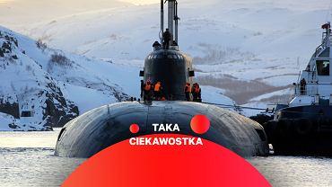 Okręt podwodny Oriel typu Antej. Zbudowany na tej samej bazie Białogrod wygląda z zewnątrz bardzo podobnie