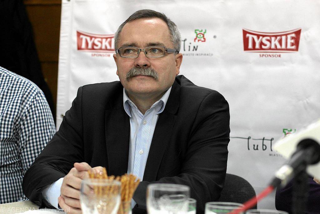 Honorowy prezes LW KMŻ Zbigniew Wojciechowski