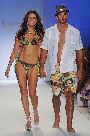 Kąpielówski z kolekcji Nicolita Swimwear moda męska