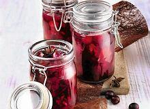 Żurawiny i orzechy w czerwonym winie - ugotuj