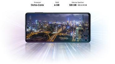Samsung Galaxy M51 z baterią 7000 mAh