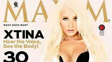 """Christina Aguilera rozebrała się dla magazynu """"Maxim""""!"""