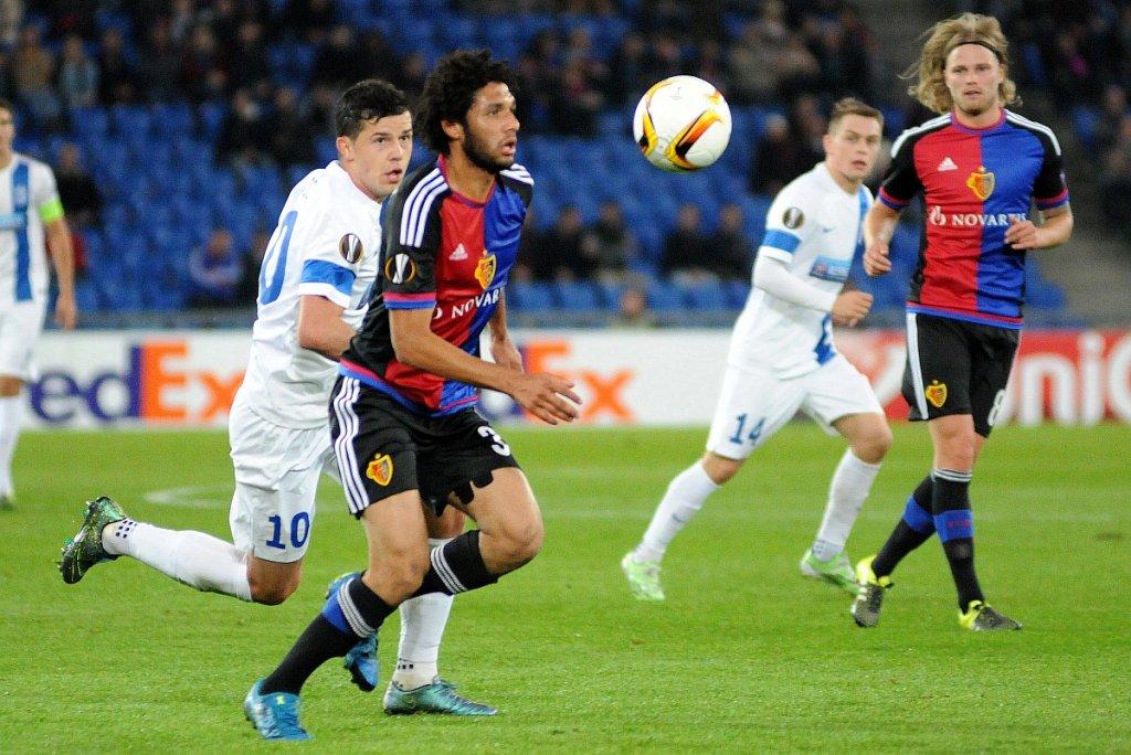 FC Basel - Lech Poznań 2:0. Darko Jevtić i Mohamed Elneny