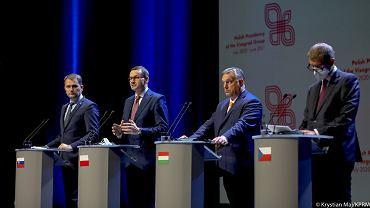 Spotkanie Grupy Wyszehradzkiej. Premier: Chcemy zaproponować bezwizowy ruch dla Białorusinów