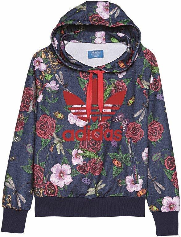adidas bluza kwiaty