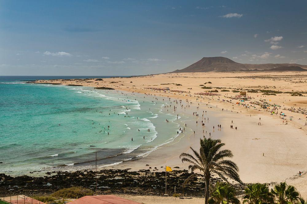 Piaszczyste plaże Corralejo