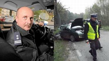 Wojciech Pasieczny/ Zdjęcie z miejsca wypadku