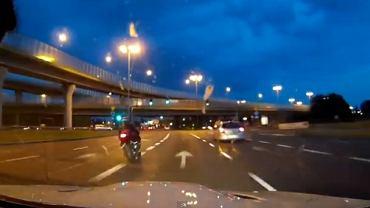 Pirat drogowy w BMW