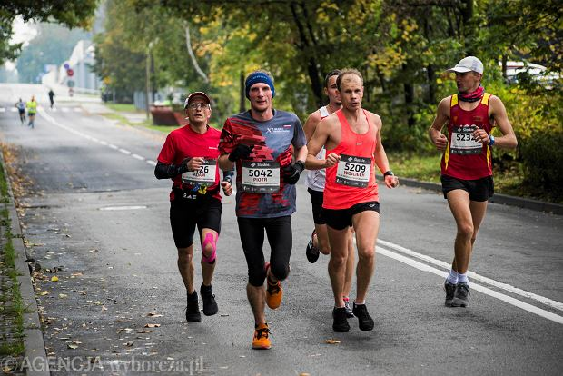 Zdjęcie numer 62 w galerii - Silesia Marathon. Chłód i wiatr niestraszne, rekord pobity! [ZDJĘCIA]